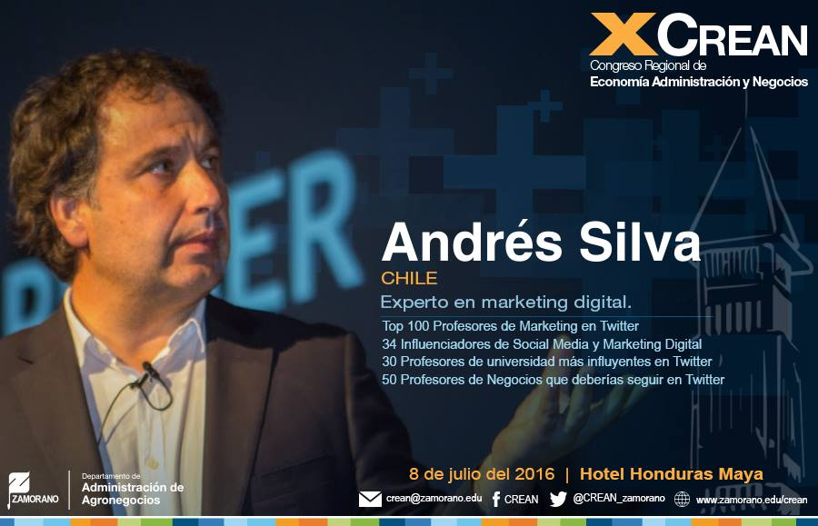 CREAN Tegucigalpa Honduras 2016 Andrés Silva Arancibia Speaker 1