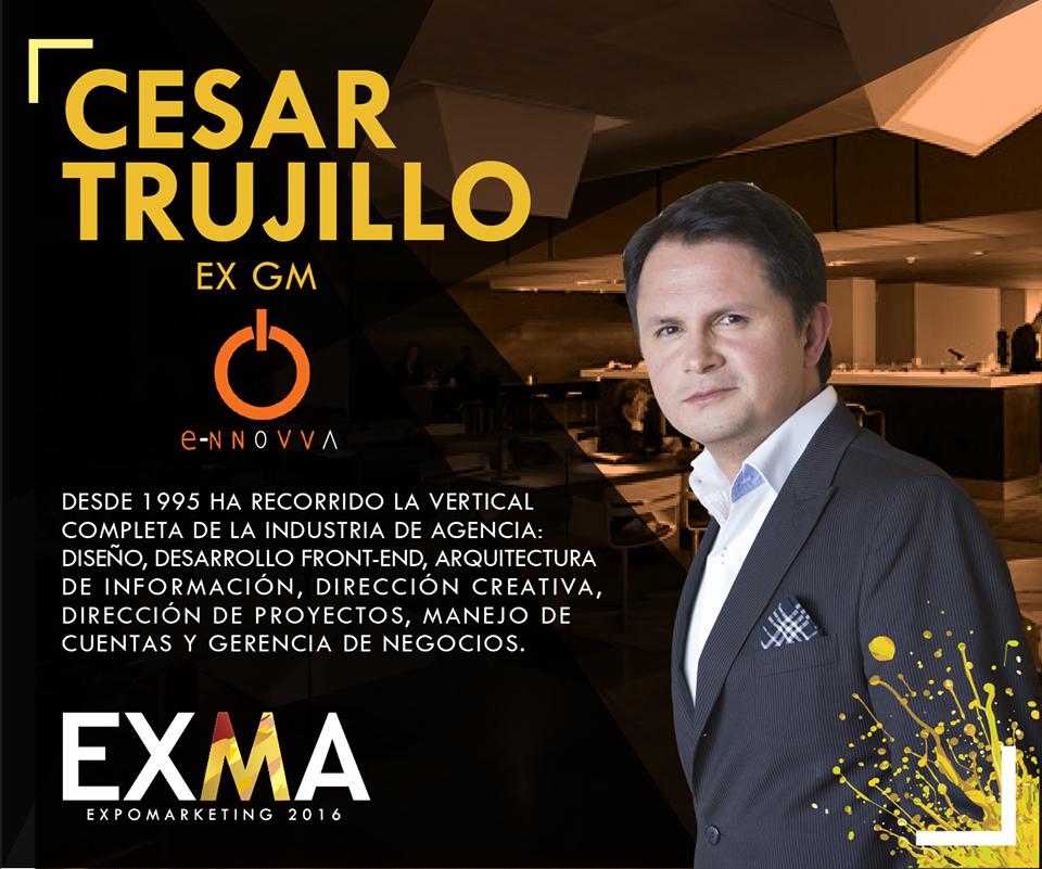 Cesar Trujillo EXMA 2016