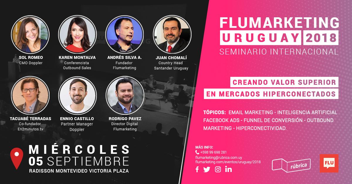 Flumarketing uruguay 2018